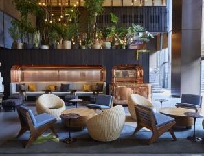 隈研吾+Commune Design--京都Ace酒店