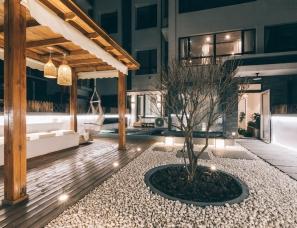 芷诺设计 | 返璞归真,在160方的自然系住宅里与自然对话!