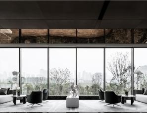 PAL梁景华+春山秋水设计--郑州正荣·御首府·天樾售楼处