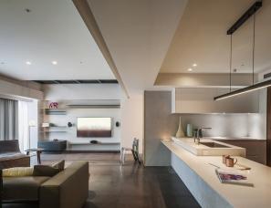 台北水相设计--喜帖设计师住宅