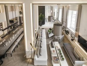 英国Kelly Hoppen设计--伦敦旧厂房变成两层六室优雅大宅