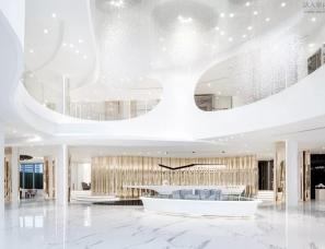 刘荣禄国际空间设计--城市星光璀璨售楼处