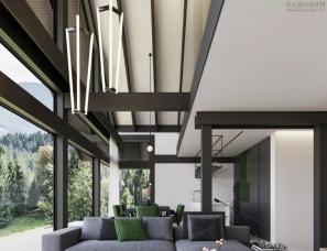 Stephen Tsimbalyuku--两层小别墅,感受设计的创造性