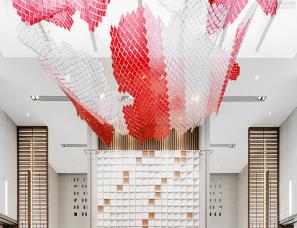 孚曼设计+元禾大千--北京路劲·御合院项目售楼处