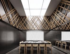 日式铁板烧餐厅设计,非常受欢迎的大渔 【艺鼎设计作品】