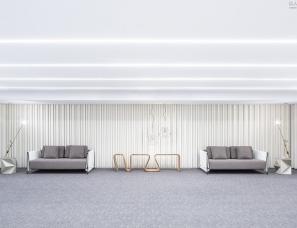 Debaixo do Bloco--巴西10x10米纯白极简概念空间