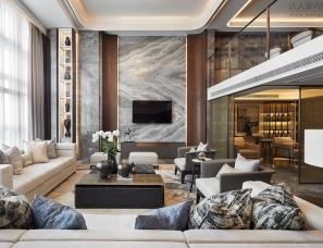 C.H.Y室内设计|福州泰禾金府天境入户大堂及样板间