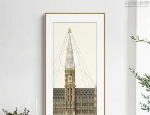 摩登艺术——建筑系列ART