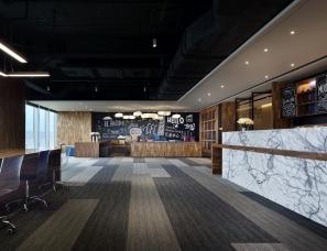 广州办公空间设计,一个让人想24小时上班的办公空间