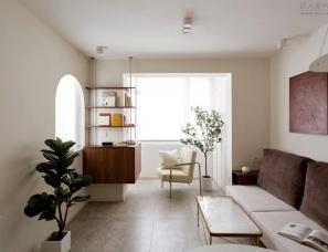 栖斯设计--不锈钢的楔入65㎡住宅