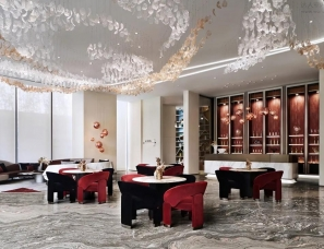 布鲁盟设计--西安红星天铂美学生活馆:当代设计与文化和鸣