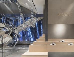 红山设计--上海ECCO全球旗舰店