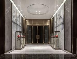 广州本则设计--三亞華皓亞龍府售樓部