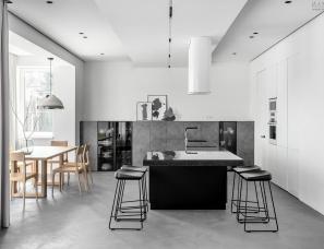 乌克兰极简主义住宅,为你营造宁静之感