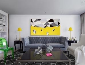 风合睦晨空间设计--武汉澜菲简约公寓设计