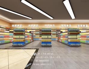 超市效果图表现