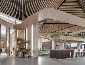 【首发】GND恩嘉设计--儋州中南智慧城销售中心