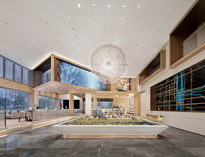 同心同盟设计--越秀·长沙湘江星汇城营销中心