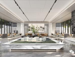 SWS设计--绿城永康桂语听澜售楼处