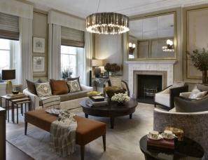 Helen Green设计--Grand apartment belgravia