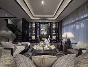 深圳矩阵纵横设计--重庆万科悦湾别墅样板房