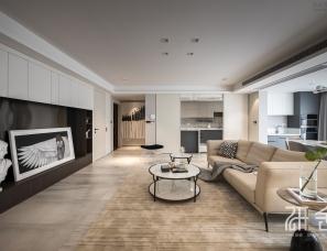 研舍设计|客厅这样改,竟让空间看上去大了一倍