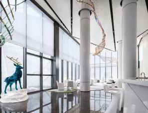 李益中空间设计--新疆中海·熙岸销售展示中心