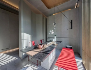 深圳派尚环境艺术设计--万科福州九如府展示中心