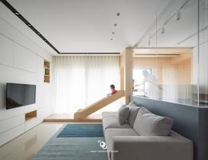 虫点子创意设计  | 台北亲子宅·单层26坪