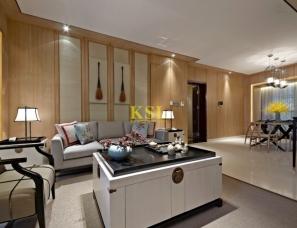 KSL设计--深圳寶安中洲中央公園11-B01戶型樣板房