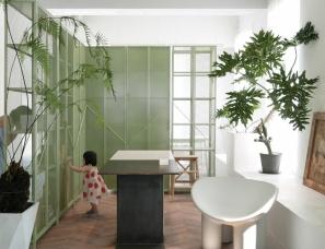 尔我空间设计--自然纯净的Bymalic咖啡店