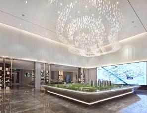 上悦设计--绿地香港·理想城售楼处