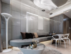 零次方设计--香港中冶·逸璟·龙湾样板房