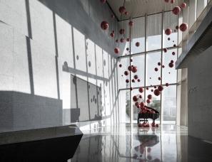 乐尚设计 | 温州万科翡翠艺术馆:极简生活的至高美学
