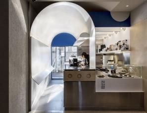 未来以北设计--两杯两杯咖啡店